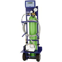 SF<sub>6 </sub> gas cart, model GFU08-B, basic version